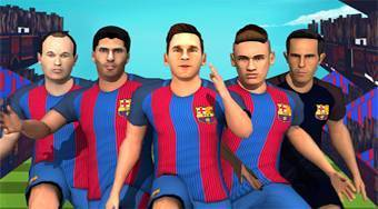 FC Barcelona Ultimate Rush | Free online game | Mahee.com
