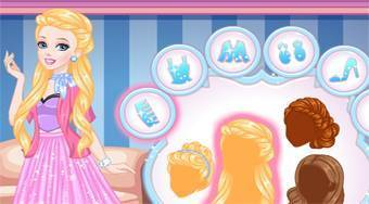 Cinderella's Glittery Skirt - online game | Mahee.com