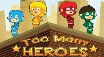 Too Many Heroes - online game | Mahee.com