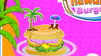 Cooking Hawaiian Burgers | Mahee.com