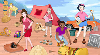 Princesses Research In Egypt - Game | Mahee.com