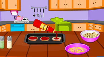 Cooking Mummy Pizza - Game | Mahee.com