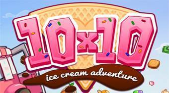 10x10 Ice Cream Adventure - online game | Mahee.com