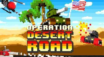 Operation Desert Road | Free online game | Mahee.com