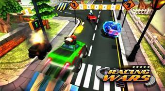 Racing Wars | Free online game | Mahee.com