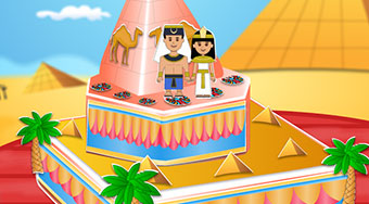 Egyptian Princess Wedding Cake - Le jeu | Mahee.fr