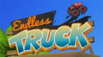 Endless Truck | Free online game | Mahee.com