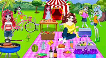 Monster High Picnic Party | Mahee.es