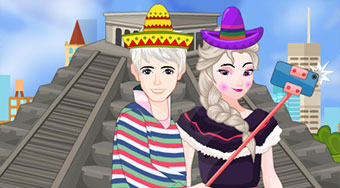 Elsa And Jack Selfie In Mexico - Le jeu | Mahee.fr