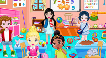 Little Princesses In Play School | Free online game | Mahee.com