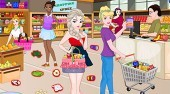 Princesses In Supermarket