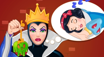 The Evil Queen's Spell Disaster - jeu en ligne | Mahee.fr
