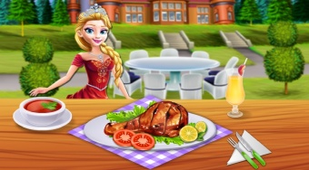 Princesses Grill Party | Mahee.es