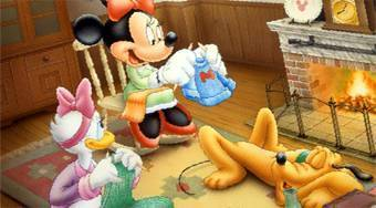 Mickey, Donald and Goofy Coloring - Le jeu | Mahee.fr