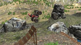 ATV Offroad Trials 2 - online game | Mahee.com