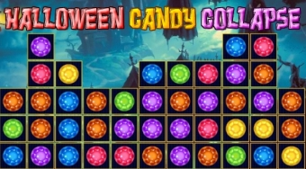 Halloween Candy Collapse - Game | Mahee.com