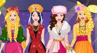 Around The World Fashion Show 2 - online game | Mahee.com