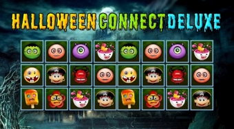 Halloween Connect Deluxe | Free online game | Mahee.com