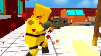 Strike Blocky Fun - online game | Mahee.com
