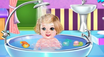 Baby Spa Salon - Game | Mahee.com