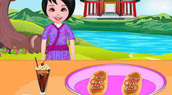 Cooking Chinese Cocktail Buns | Free online game | Mahee.com