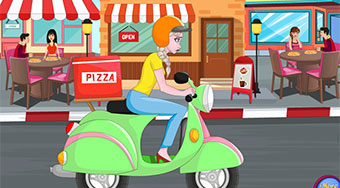 Elsa Pizza Delivery - online game | Mahee.com