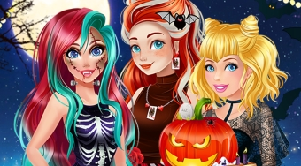 Princesses Halloween Challenge