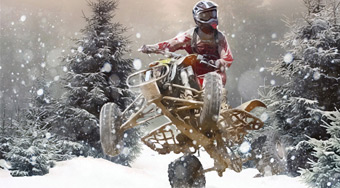 Snow Racing ATV - online game | Mahee.com