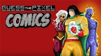 Guess the Pixel: Comics Heroes