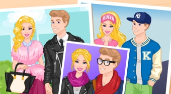 Barbie And Ken Fashion Couple - el juego online | Mahee.es