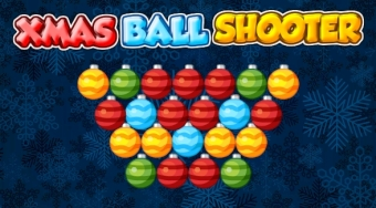 Xmas Ball Shooter | Free online game | Mahee.com