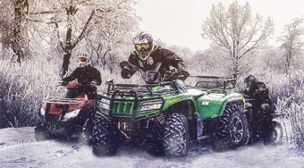 4x4 Winter ATV | Mahee.com