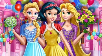 Princess Birthday Party - online game | Mahee.com