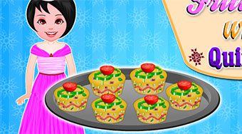 Cooking Frittatas With Quinoa | Free online game | Mahee.com