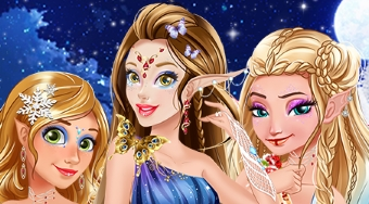 Winter Fairies Princesses | Mahee.es
