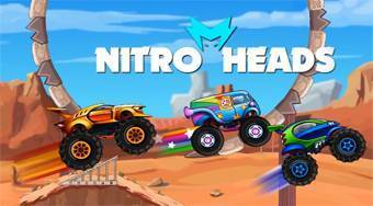 Nitro Heads | Free online game | Mahee.com