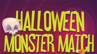 Halloween Monster Match - online game | Mahee.com