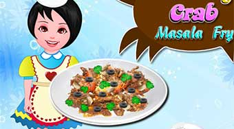 Cooking Crab Masala Fry - online game | Mahee.com