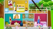 Princess Modern Doll house