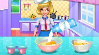 Chef Camilla's Delicious Rainbow Donut | Free online game | Mahee.com