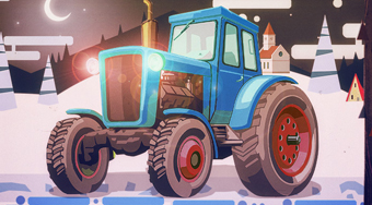 Christmas Tractor Racing | Mahee.es
