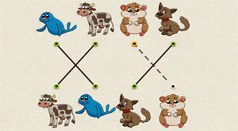 Match the Animal - Game | Mahee.com