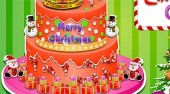 Princess Christmas Cake