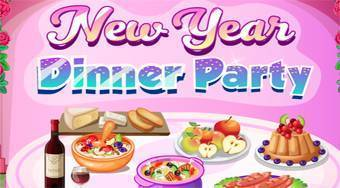 New Year Dinner Party - online game | Mahee.com