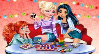 Princesses Board Game Night - online game | Mahee.com