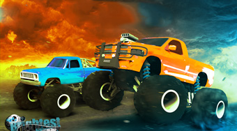 Monster Truck Drag Racers - Game | Mahee.com
