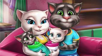 Angela Twins Family Day - online game | Mahee.com