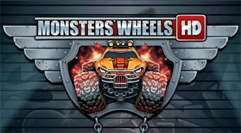 Mosnter's Wheels HD - online game | Mahee.com