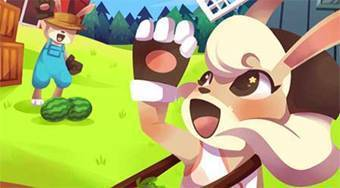Rapid Rabbit Rush - online game | Mahee.com