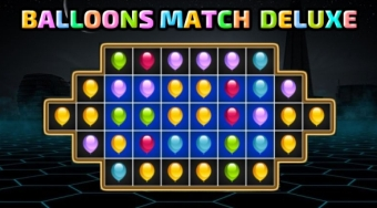 Balloons Match Deluxe | Free online game | Mahee.com
